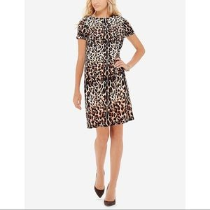 The Limited Leopard Animal Print Shift Dress